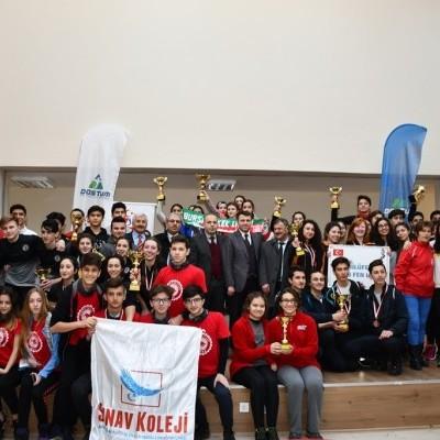 Oryantiring İl Şampiyonası Kupaları İnegöl'de Sahiplerini Buldu