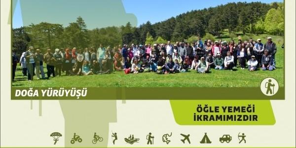 İnegöl Belediyesi 6. Geleneksel Doğa Yürüyüşü